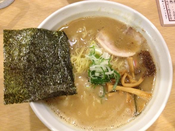 麺房 十兵衛 濃厚醤油ラーメン