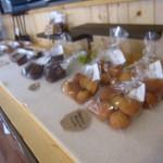 モモカフェの焼き菓子